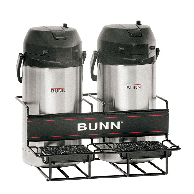 BUNN-O-Matic 35728.0001 UNIV-2 APR Universal Airpot Rack, For 2 Airpots, Holds 2 Lowe