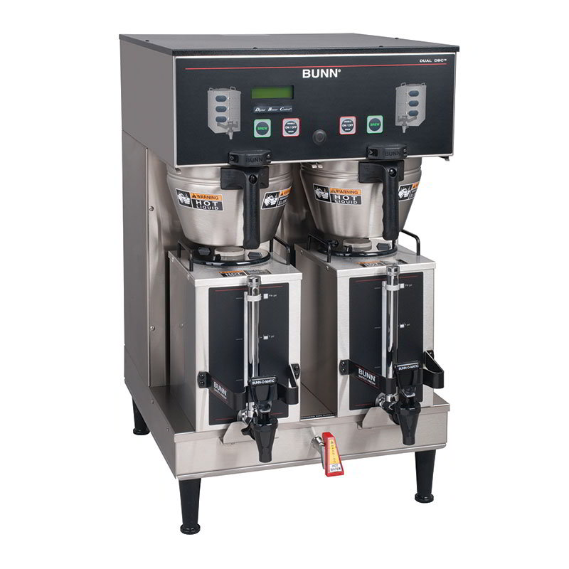 BUNN-O-Matic 35900.0010 18.9-Gallon Dual GPR Brewer w/ Digital Brewer Control, 120/208-240