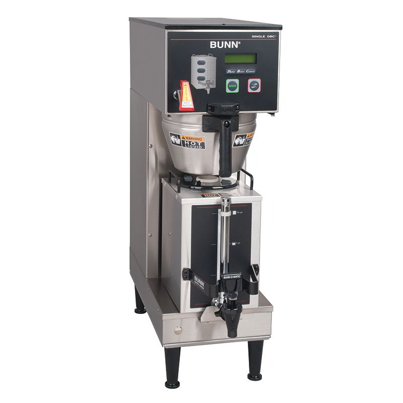 BUNN-O-Matic 36100.0010 Single Coffee Brewer w/ Digital Control, 12.5-Gallons/Hr