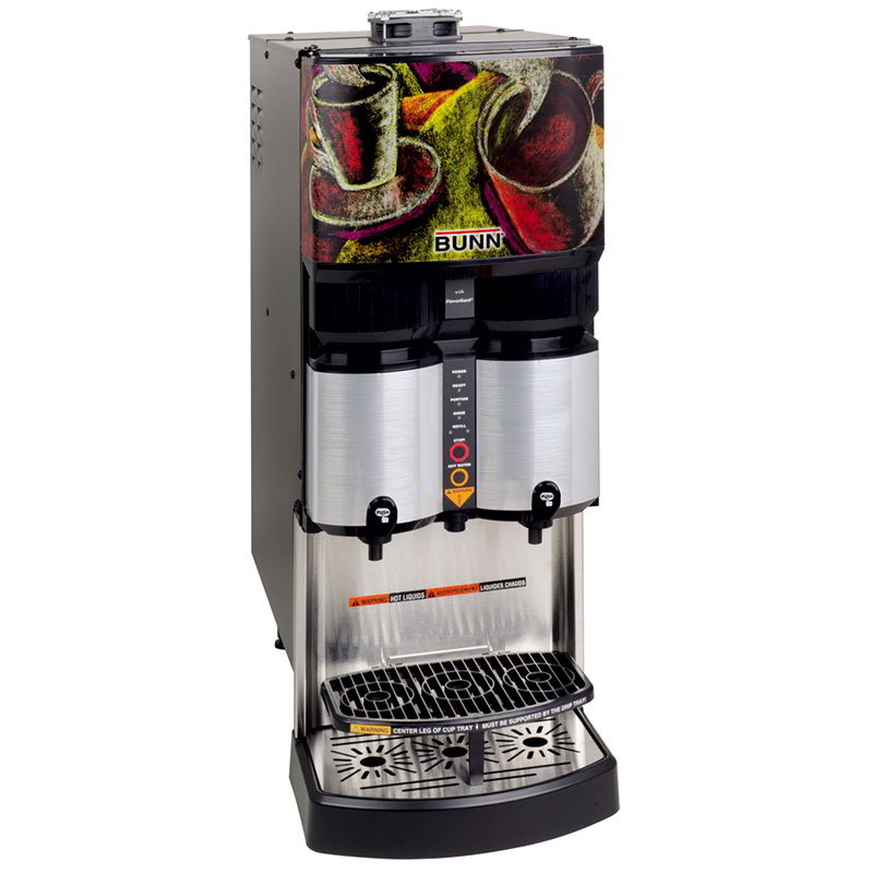 BUNN-O-Matic 36500.0004 Liquid Coffee Ambient Dispenser, LiquiBox QC/DII Connect, 25:1-45:1