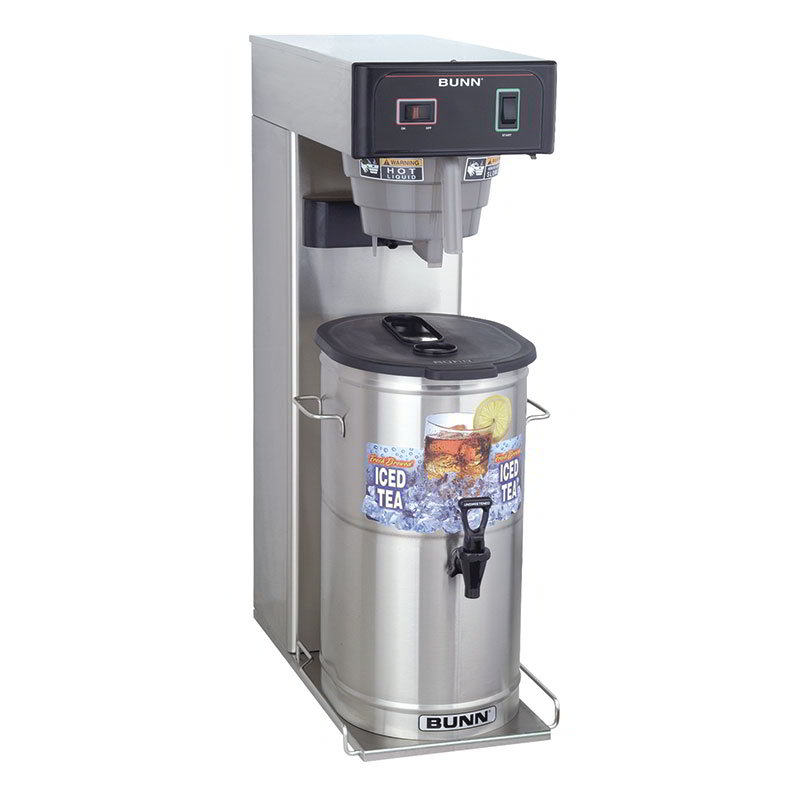BUNN-O-Matic 36700.0009 TB3 Iced Tea Brewer, 3 Gallon, 29in Trunk
