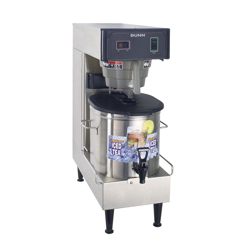 BUNN-O-Matic 36700.0100 3-Gal Automatic Low Profile Iced Tea Brewer, Dispenser, 120 V