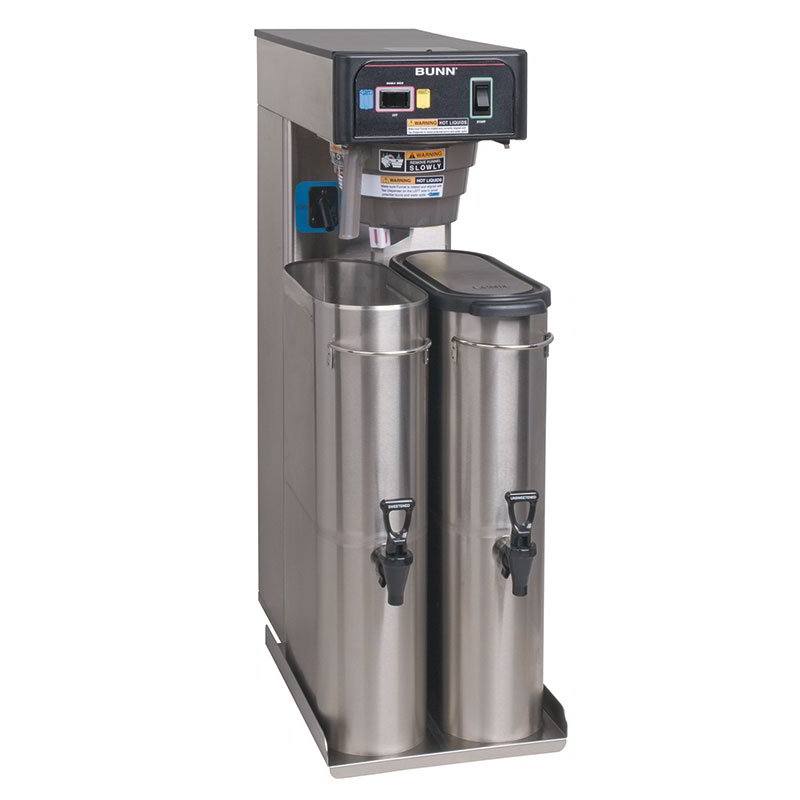 BUNN-O-Matic 36700.0300 6 Gallon Automatic Twin Iced Tea Brewer, Rotating Brew Baskets, 120 V