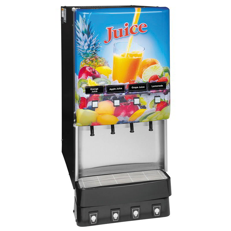 BUNN-O-Matic 37300.0002 4-Flavor Beverage System, Water Dispense, Juice Display, 120 V