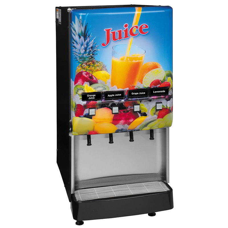 BUNN-O-Matic 37300.0004 4-Flavor Cold Beverage System, Juice Display, 120 V