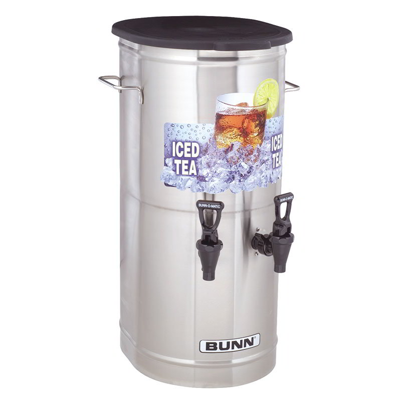 BUNN-O-Matic 37750.0002 Tea Concentrate Dispenser, 2-Faucets