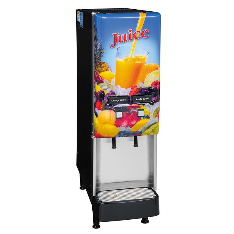 BUNN-O-Matic 37900.0008 2-Flavor Beverage System, Lit Door, Juice Display, 120 V