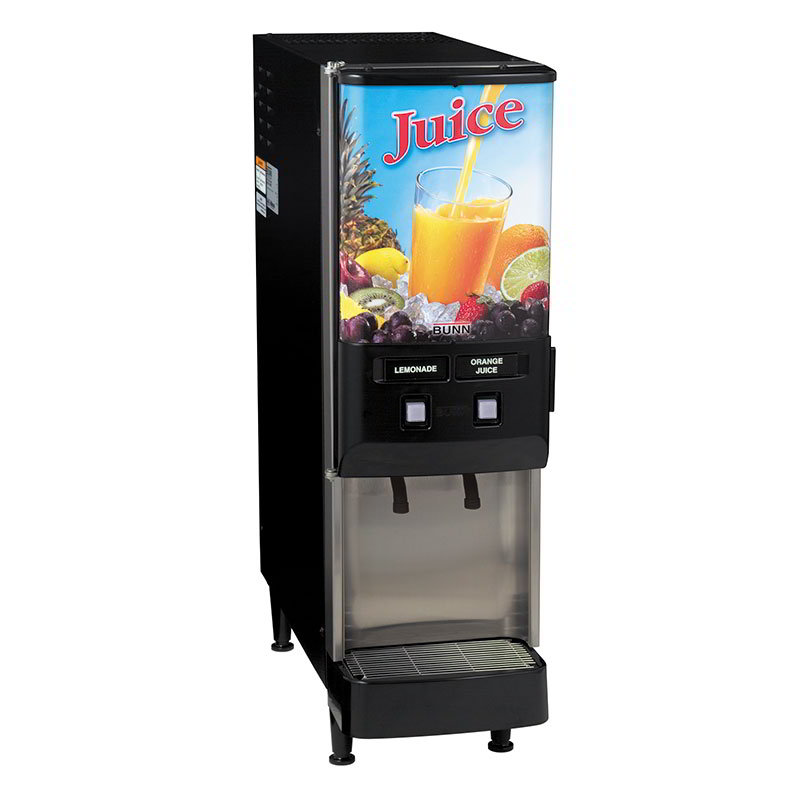BUNN-O-Matic 37900.0025 2-Flavor Beverage System, Dual Dispense, Juice Display, 120 V