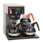 BUNN-O-Matic 38700.0009 AXIOM-DV-3 Automatic Brewer, 3 Lower Warmers, Dual Voltage