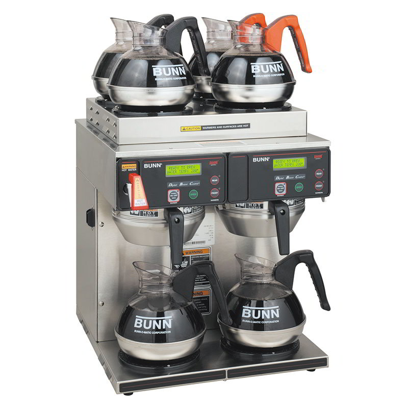 BUNN-O-Matic 38700.0014 AXIOM Coffee Brewer, 2 Lower And 4 Upper Warmers, 120/208-240 V