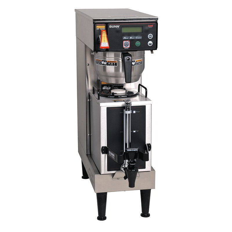 BUNN-O-Matic 38700.0045 9-Gal Coffee Brewer, Touch Pad & LCD Display, 120/208-240 V