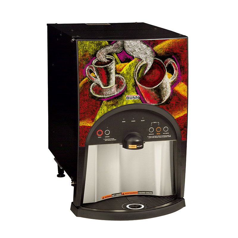 BUNN-O-Matic 38800.0001 LCA-2 LP Liquid Coffee Ambient Dispenser, QCDII Connector, 25:1-100:1