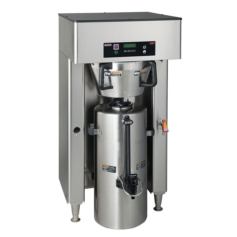 BUNN-O-Matic 39300.0000 Dual Insulated Coffee Server Brewer w/ Faucet, 22.5-Gal/Hr, 120-208/3