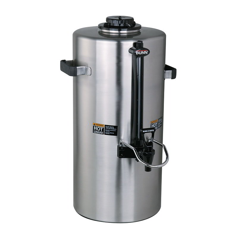 BUNN-O-Matic 39400.0001 3-Gallon Insulated Server, Brew Through Lid & Fast F