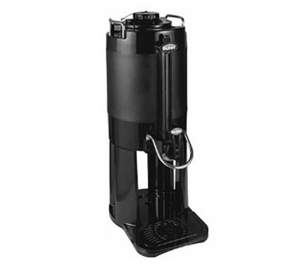 Bunn 39550.0001 TF Server 1.5 Gallon Mechanical Gauge Black Restaurant Supply