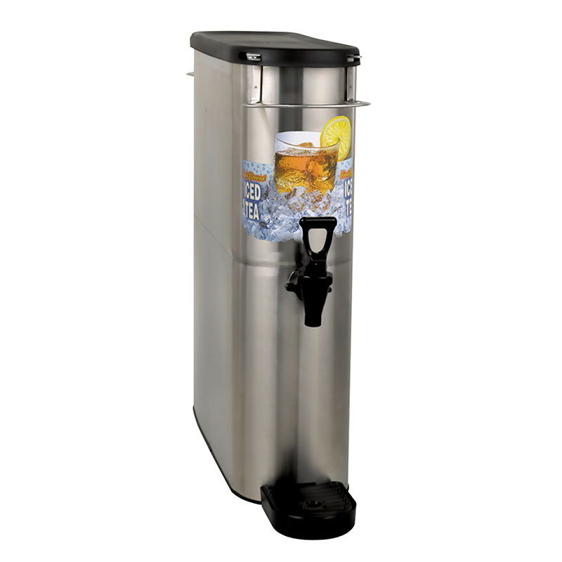 BUNN-O-Matic 39600.0002 4-Gal Brew Through Narrow Oval Iced Tea Dispenser