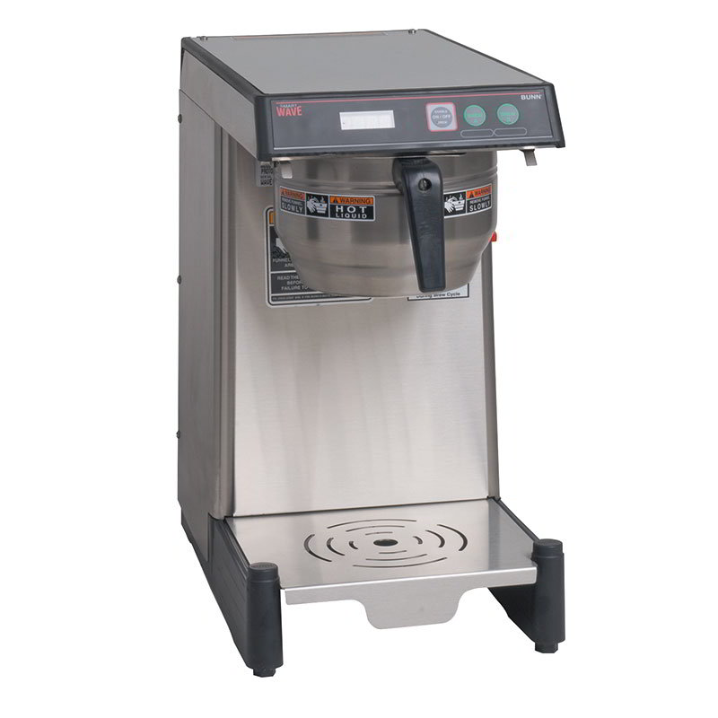 BUNN-O-Matic 39900.0013 Airpot Coffee Brewer, Low Profile w/ 3.9-gal in 1-hr & LED Read Out