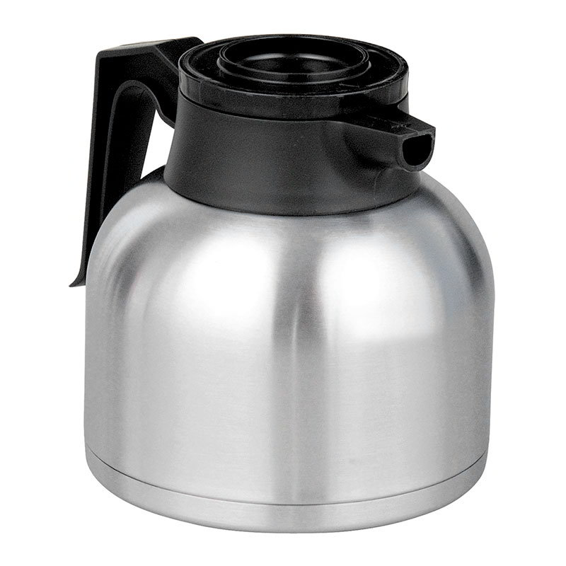 BUNN-O-Matic 40163.0000 Thermal Carafe, 1.9 Liters (64 oz), Brew-Thru Lid, Black Lid