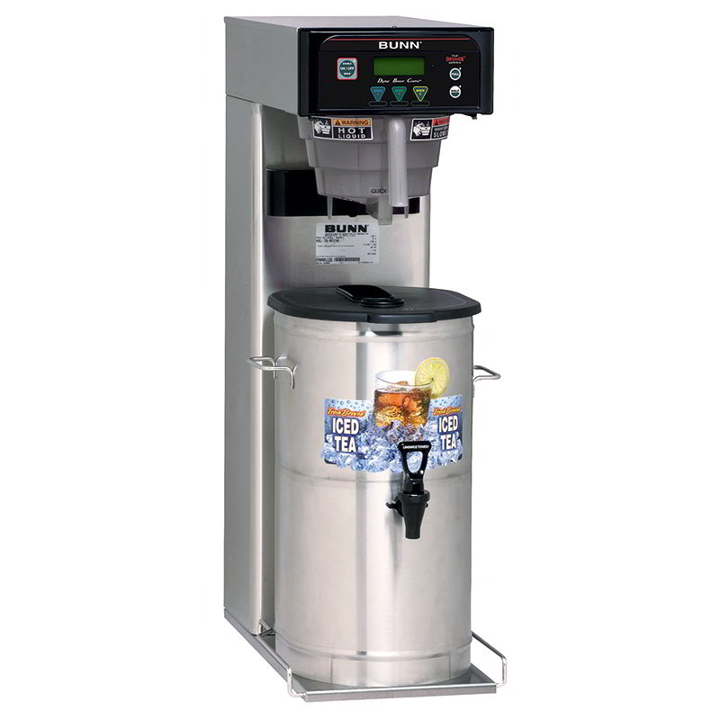 BUNN-O-Matic 41400.0000 5-Gal Iced Tea Brewer, Digital Controls & Brew