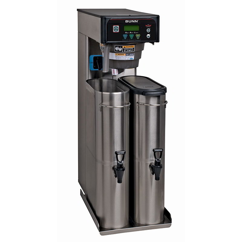 BUNN-O-Matic 41400.0003 5-Gal Iced Tea Brewer, Dual Dilution & Sweetener, 120 V