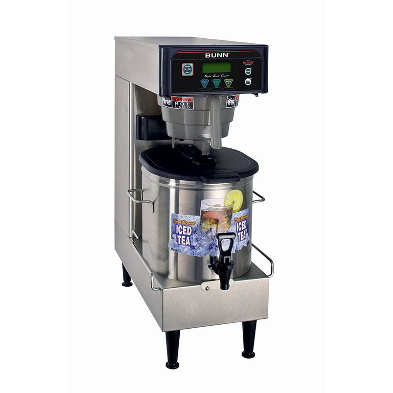 BUNN-O-Matic 41400.0004 Low Profile Iced Tea Brewer w/ 3-gal Single Brewer & 3-Recipe Buttons