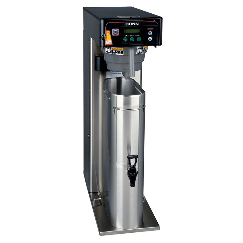BUNN-O-Matic 43000.0000 Programable Coffee & Tea Brewer, 3 To 5-Gallon Batches