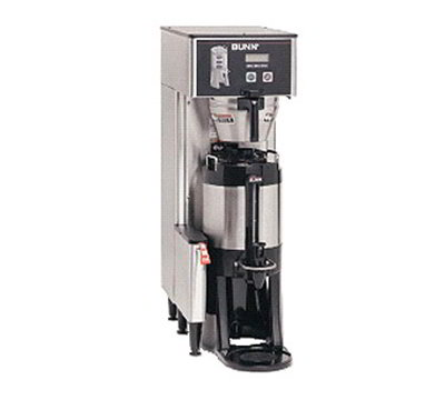 BUNN-O-Matic 34800.0000 Single Coffee Brewer w/ 11.4-gal/hr Capacity, PreInfusion, Pulse Brew, Stainless