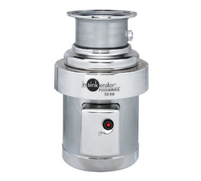 InSinkErator SS-150-18C-MRS 115 Disposer Pack, 18-in Bowl, Manual Reverse Switch
