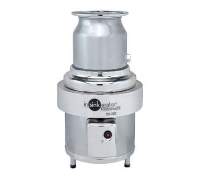 InSinkErator SS-750-6-CC101 230 Disposer Package w/ #6-Adapter & CC101 Panel, 7.5-HP, 230/3 V