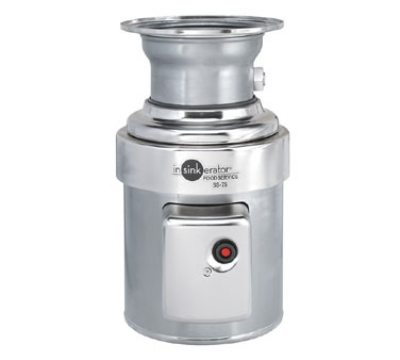 InSinkErator SS-75-12B-MSLV 2081 Disposer Pack, 12-in Bowl, Sleeve Guard, Low V Switch, 3/4