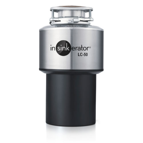 InSinkErator LC-50 Light Commercial Disposer, Automatic Reversing Motor, 120V/1PH