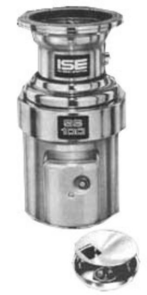 InSinkErator SS-100-18A-MS Complete Disposer Package, 1 HP,