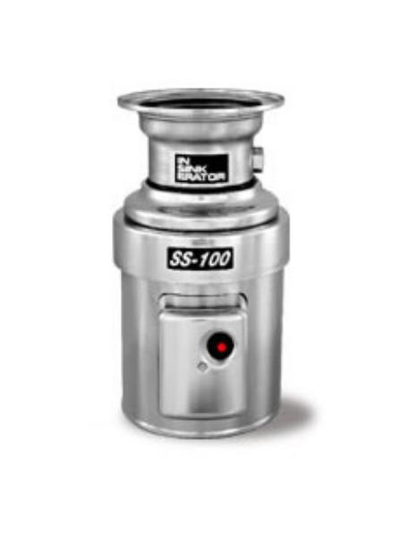 InSinkErator SS-100-6-MS Complete Disposer Package, 1 HP, #6 Adaptor, 1