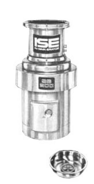 InSinkErator SS-200-15C-MS Complete Disposer Package, 2 HP, 15