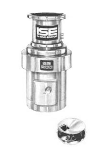 InSinkErator SS-200-18A-MS Complete Disposer Package, 2 HP, 18 in Bowl  with Co