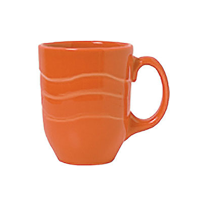 Syracuse China 903034004 10-oz Mug w/ Cantina Carved