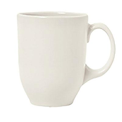 Syracuse China 903042001 11-oz Mug w/ Cantina Uncarved Pattern & Shape,