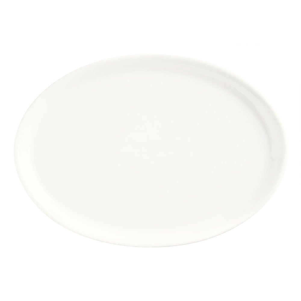 Syracuse China 905356301 9-in Oval Tray w/ Slenda Pa