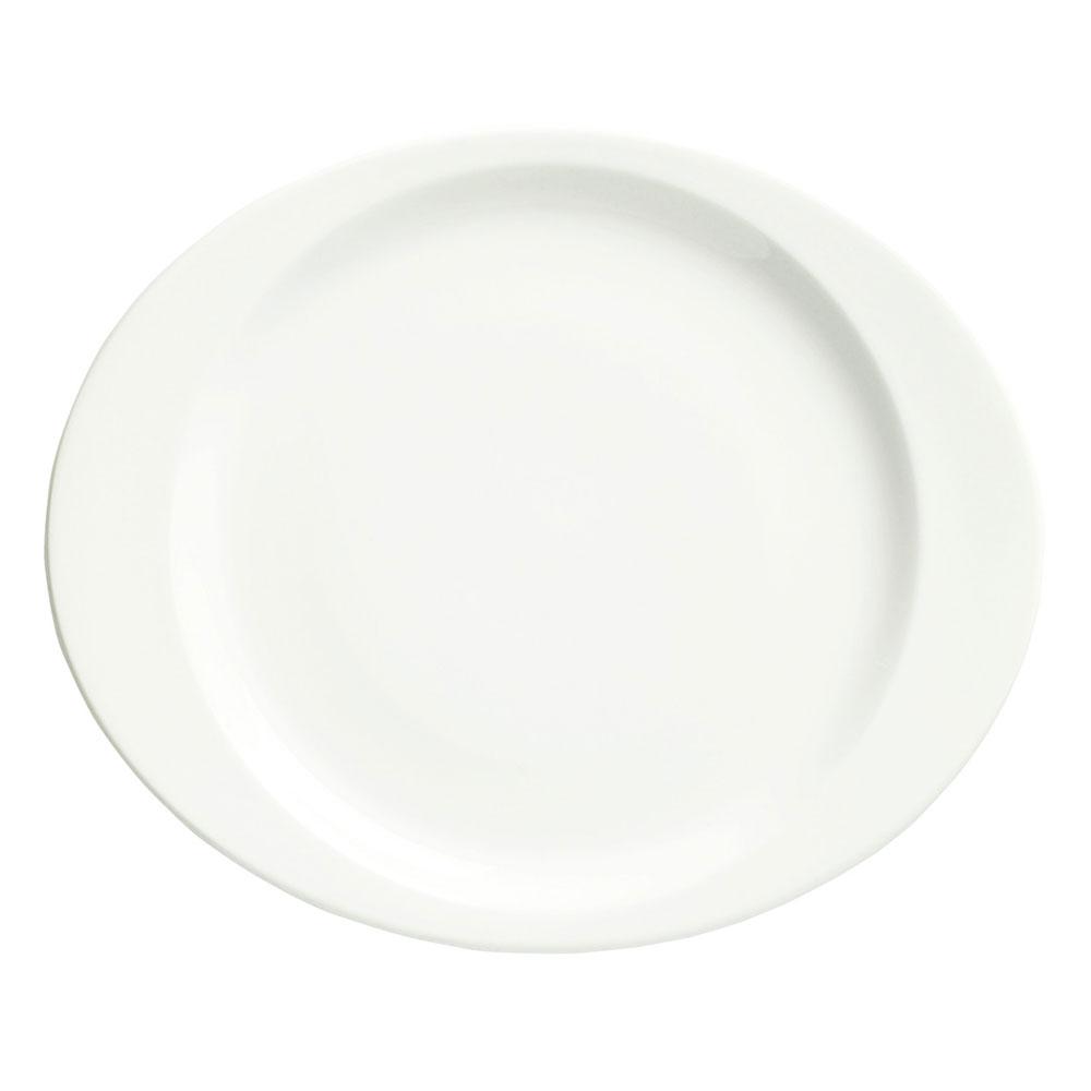 Syracuse China 905356953 11.12-in Plate w/ Slenda Pattern &