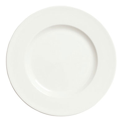 Syracuse China 905356966 10.5-in Plate, Wide