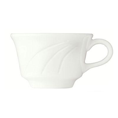 Syracuse China 905437889 8.5-oz Tall Tea Cup w/ Elan Pattern & Royal Rideau Body