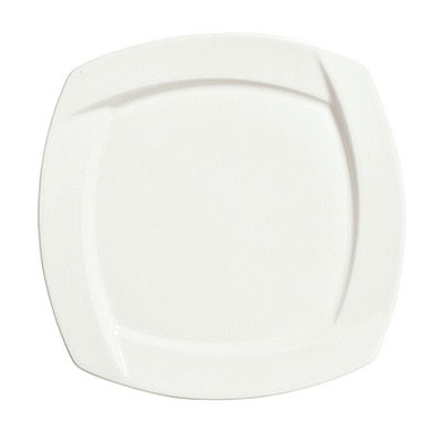 Syracuse China 905482905 7.12-in Square Plate w/ Tang