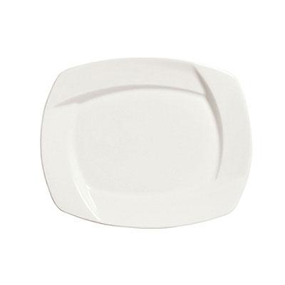 Syracuse China 905482909 Square Plate w/ Tangular P