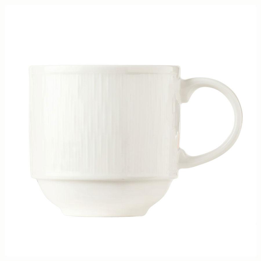 Syracuse China 909089712 12.5-oz Mug, Fully Vitrified, w/ Under ring
