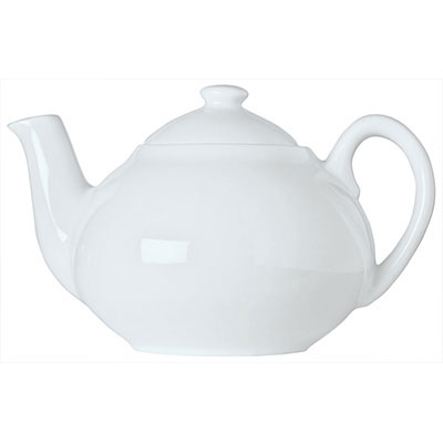 Syracuse China 911194505 14-oz Reflections Tea Pot - Knob Lid, Loop