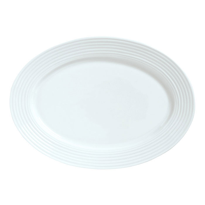 Syracuse China 911196009 12.12-in Platter w/ Repetition Pattern