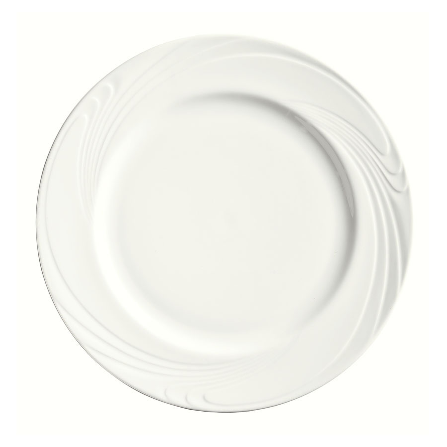 "Syracuse China 911892001 12-1/4"" Ocean Shore Plate - Round, Glazed, Al"