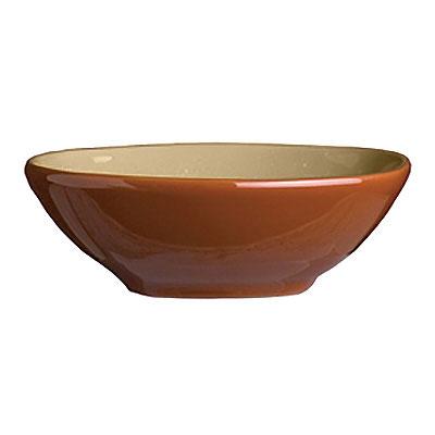 Syracuse China 922222355 4-oz Round Bowl, Terracotta Clay,