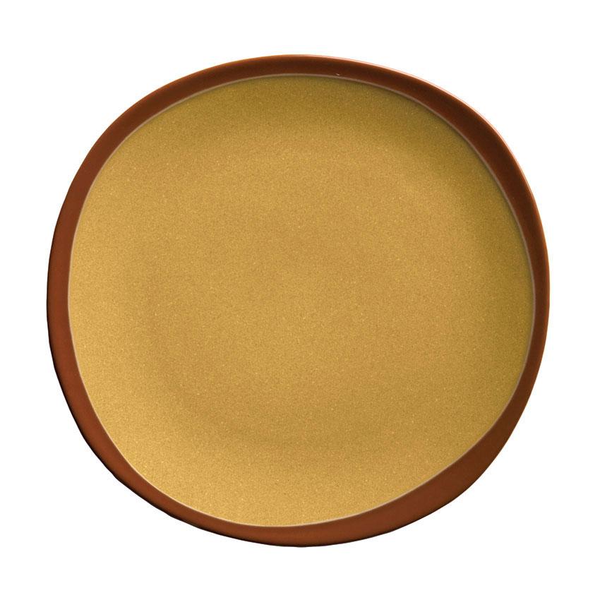 Syracuse China 922226350 Organic Shaped Plate w/ N
