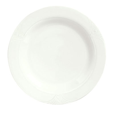 Syracuse China 950041519 10.62-in Plate w/ Cafe Royal Pattern &